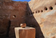Tumacacori Mission walls and pot