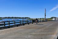 Cape Cod bike tour cyclists