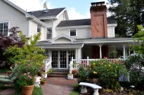The Inn at Occidental on the California wine country bike tour