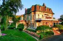 California wine country bike tour lodging at the Madrona Manor