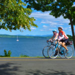 women's bike tour weekend on lake champlain