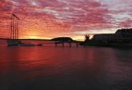 Maine-bike-tours-Acadia-bar-harbor-sunset-800x600