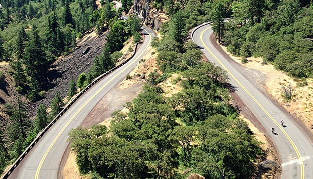 Oregon Columbia Gorge Bike Tour