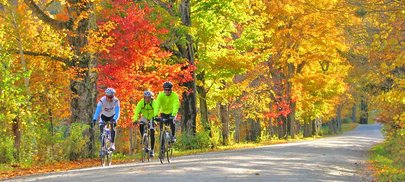 vermont bike tours self guided
