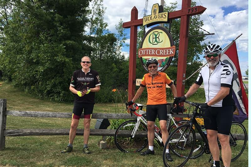 vermont brewery bike tour