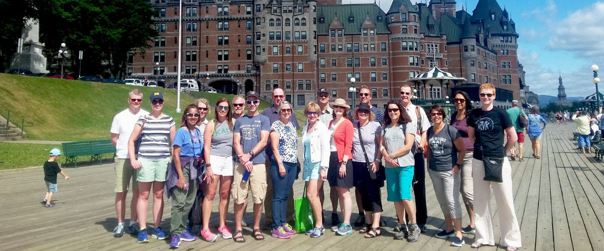 quebec bicycle tour