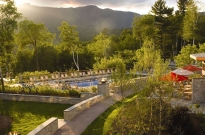 Topnotch Resort & Spa lodging on Vermont Fall Foliage bike tours