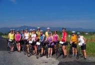 Vermont women's bike tour weekend group