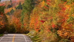 Sojourn cyclists enjoy fall foliage in Vermont