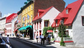 Burlington Vermont to Quesbeec City Guided Bike Tour