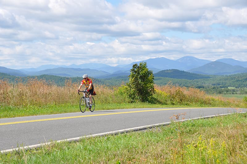 Lake Champlain Bike Tour
