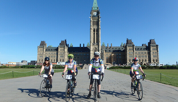Canada Bike Tour: Ottawa to Montreal