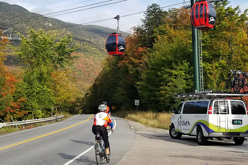 Vermont Stowe Fall Foliage Bike Tour