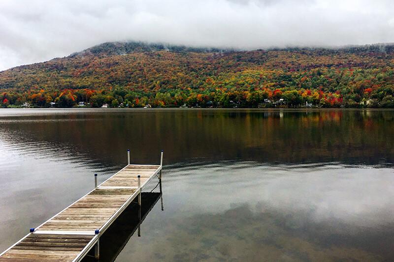 Vermont Stowe Fall Foliage Bike Tour