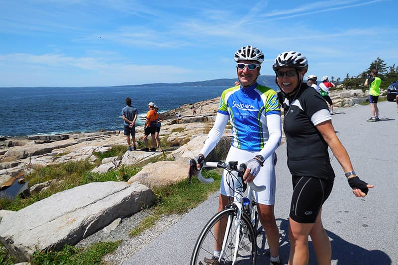 Maine 39 s acadia national park active vacations bike tours for Bike rides in maine
