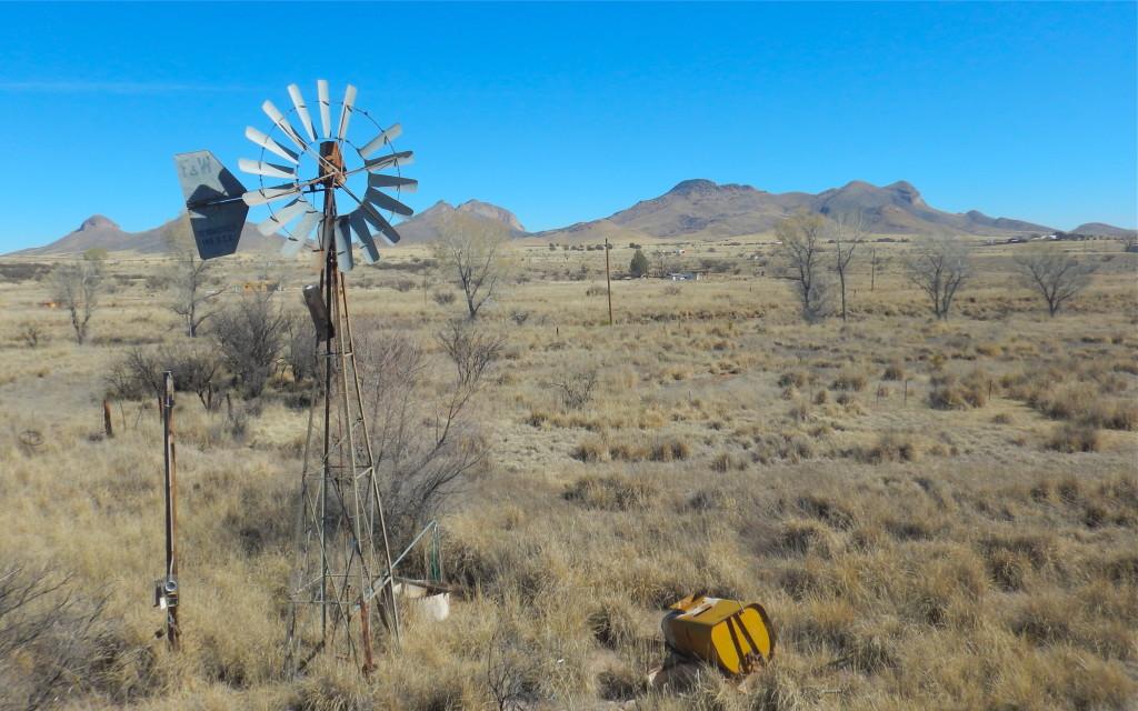 Beautiful landscape in the high desert