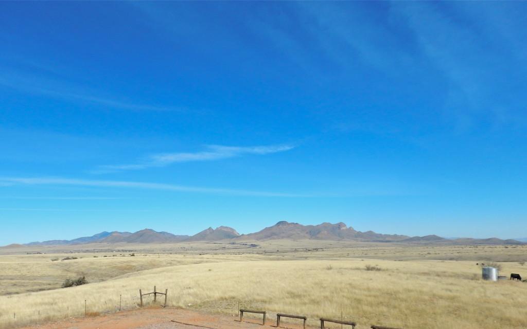 Big sky country in Sonoita, AZ