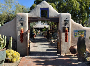 Sojourn bike tours stay at Hacienda del Sol in Tucson