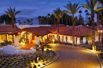La Casa del Zorro entry in evening