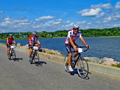 Sojourn summer cycling vacations enable cyclists to ride from Vermont to Quebec City