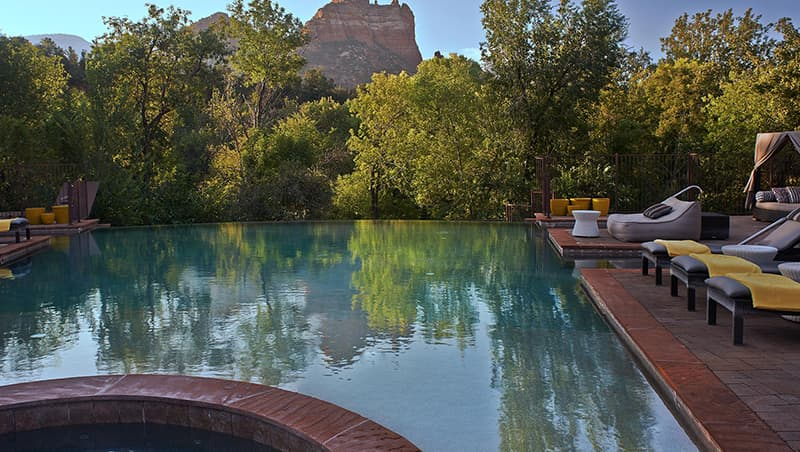 Infinity Pool at Amara Resort & Spa, Sedona, AZ