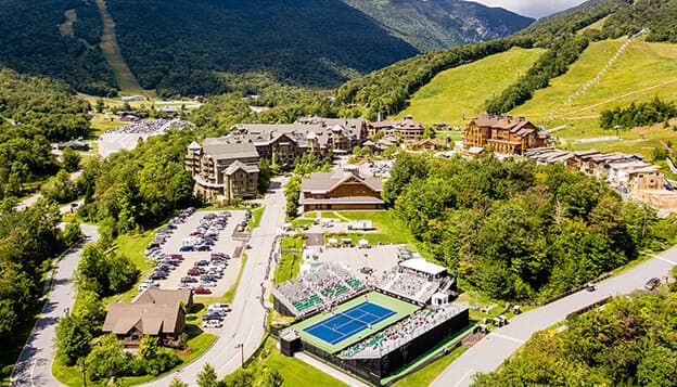 Pro Tennis Tournament & Bike Trip in Vermont