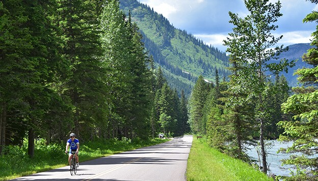 Glacier National Park Bike Tour