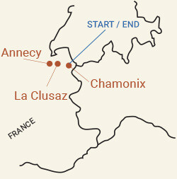France: Annecy, Chamonix and the Rhone Alps