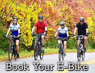 Sojourn Bike Tours - Book Your E-Bike