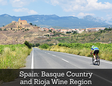 Spain: Basque Country and Rioja Wine Region Bike Tour