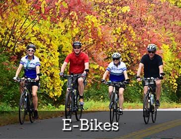 Sojourn Bike Tours - E-Bikes