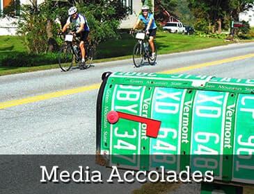 Sojourn Bike Tours - Media Accolades