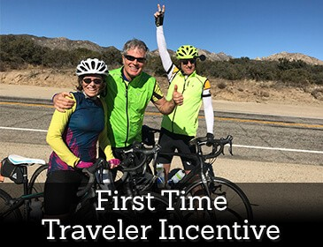 Sojourn Bike Tours First Time Travel