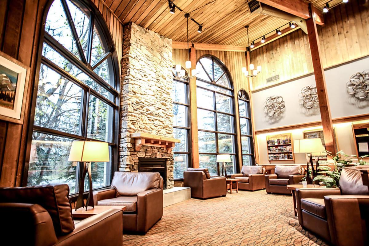 Lake Louis Inn Lobby -Banff